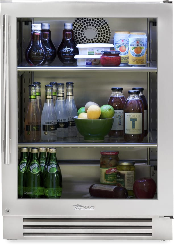 Best Rated Refrigerators >> True Residential TUR24RSGB 24 Inch Undercounter ...