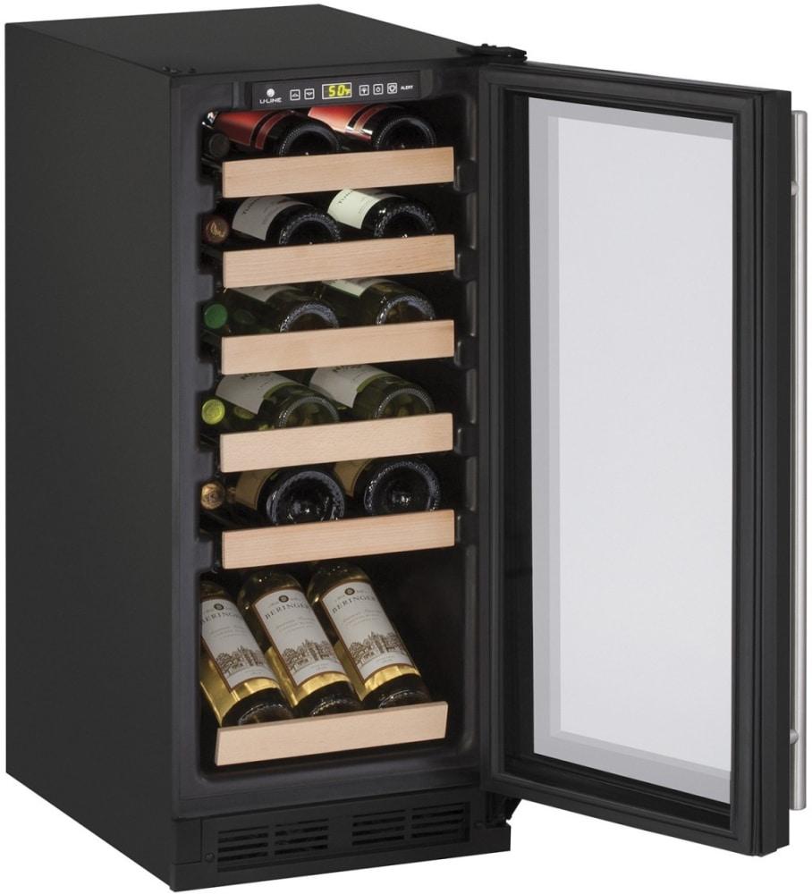 U Line U1215wcb00b 15 Inch Undercounter Wine Storage With