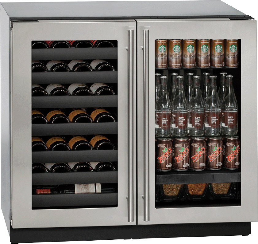 U Line U3036bvwcs00b 36 Inch Built In Beverage Center And