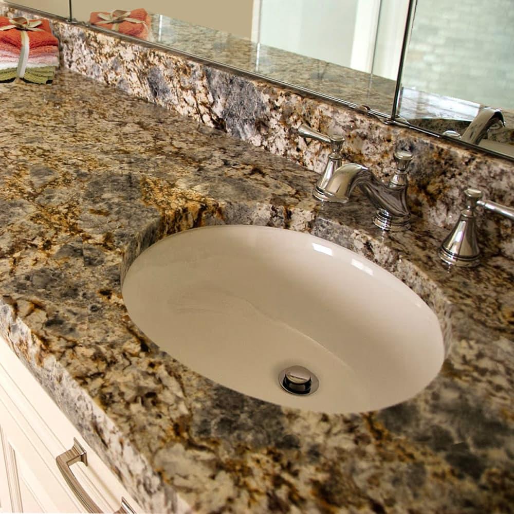 Nantucket Sinks UM13X10B 15 Inch Undermount Bathroom Sink ...