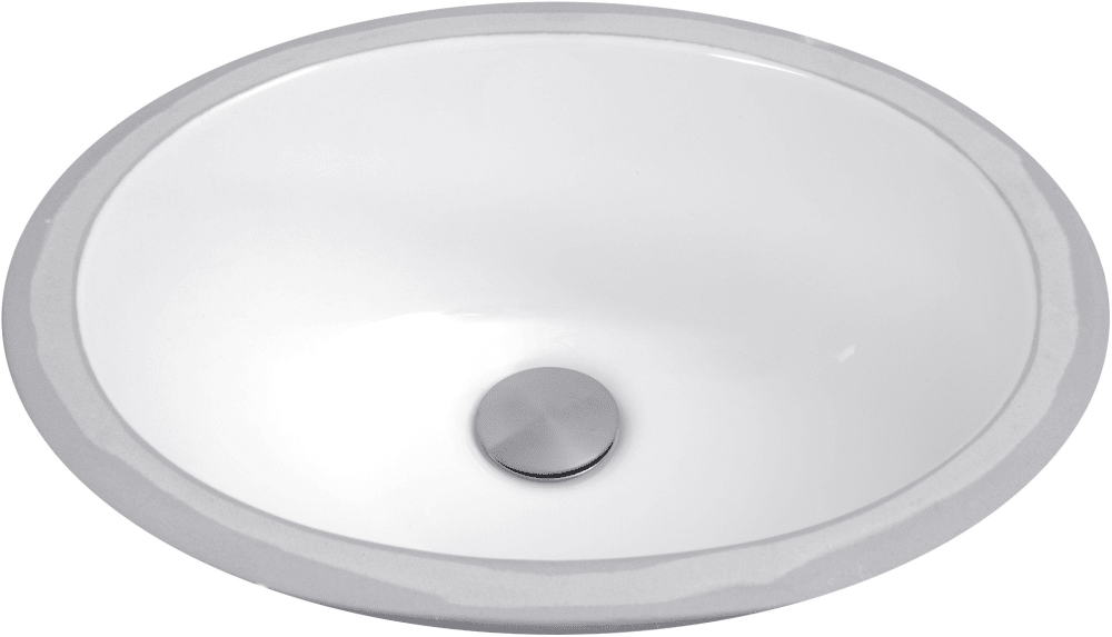 Nantucket Sinks UM13X10W 15 Inch Undermount Bathroom Sink ...