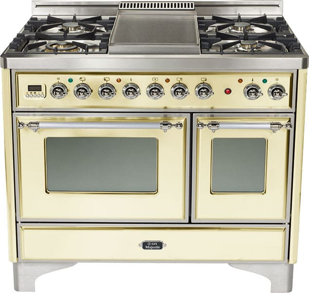 Ilve Umd100fmpax 40 Inch Traditional Style Dual Fuel Range