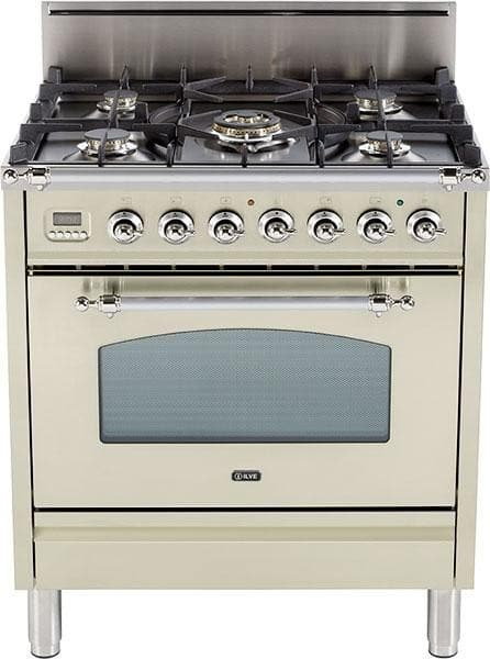 Ilve Upn76dvgg 30 Inch Professional Style Gas Range With 5
