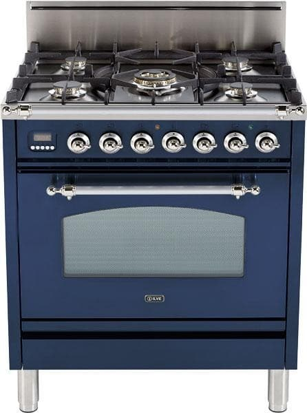 Ilve Upn76dvggblx 30 Inch Professional Style Gas Range