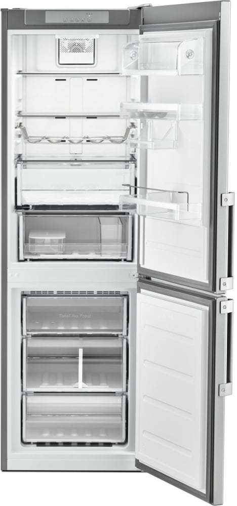whirlpool urb551wngz 24 inch counter depth bottom freezer refrigerator with dual cooling. Black Bedroom Furniture Sets. Home Design Ideas