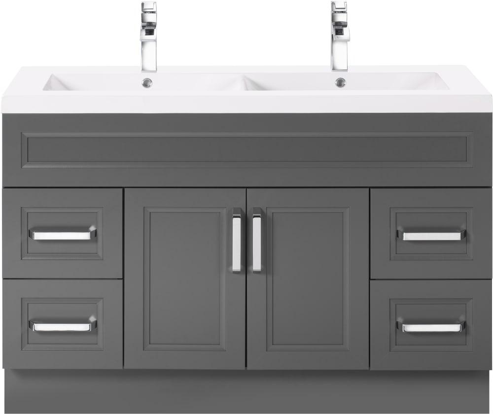 Cutler Kitchen & Bath URBSD48DBT 48 Inch Double Bowl ...