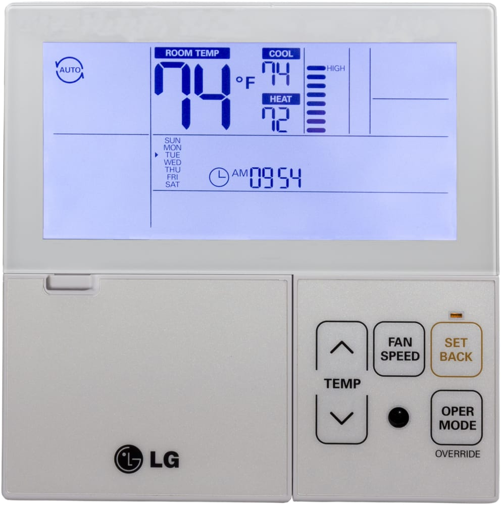 Us Thermostat With Backlight C F on Remote Refrigeration Unit System