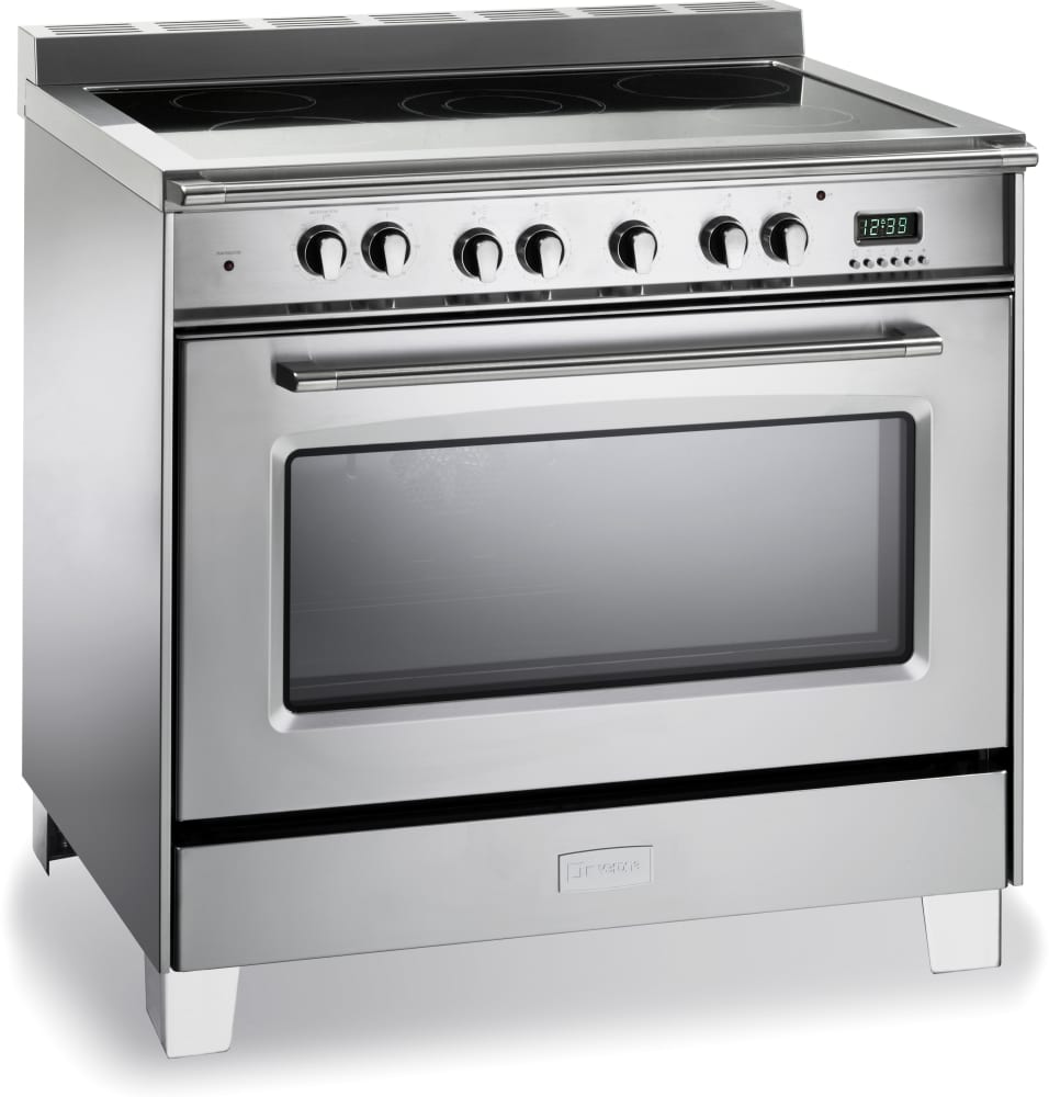 36 Electric Range >> Verona Vclfsee365ss 36 Inch Freestanding Electric Range Closeout