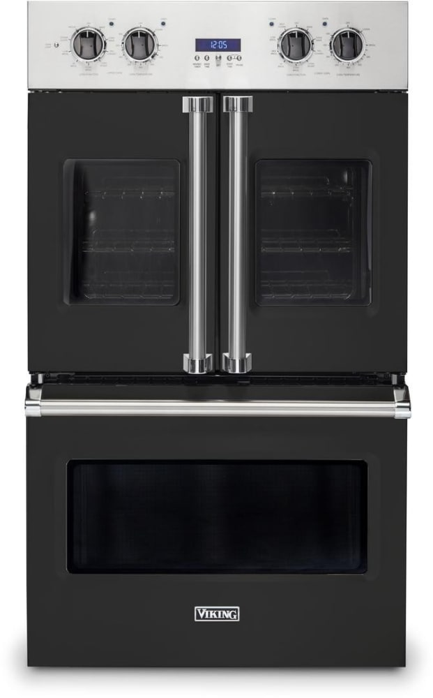 Viking Vdof7301bk 30 Inch French Door Double Wall Oven