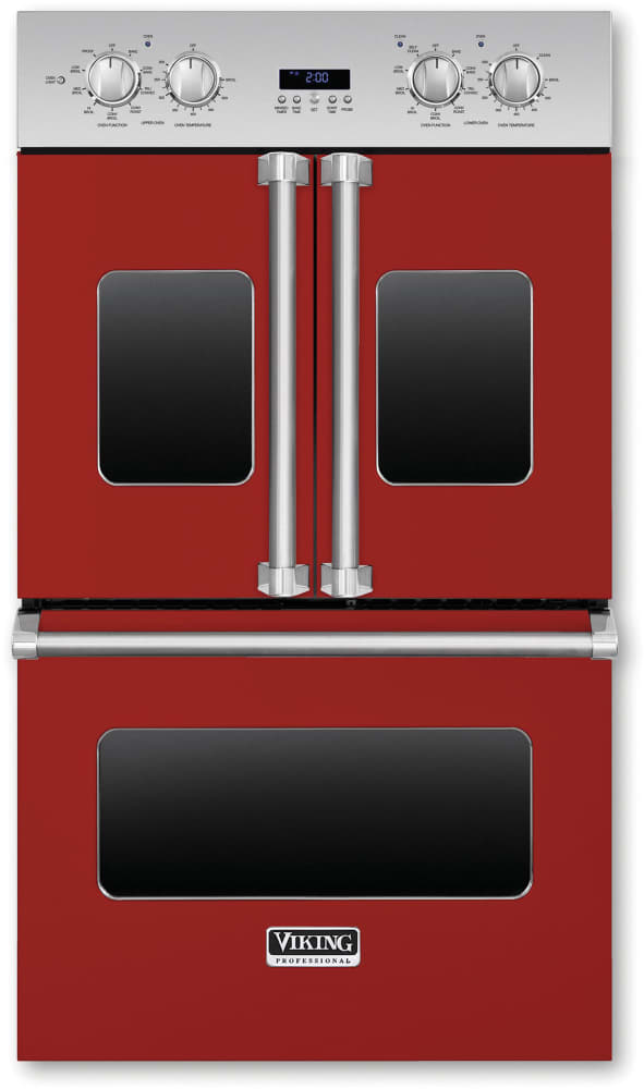 Viking Vdof730ar 30 Inch Double Electric French Door Oven