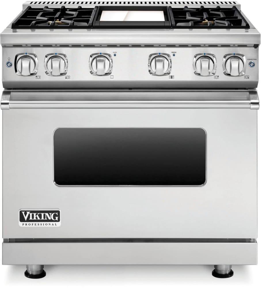 Viking Professional 7 Series Vgr73614gsslp 36 Inch Gas Range And Vicrhome
