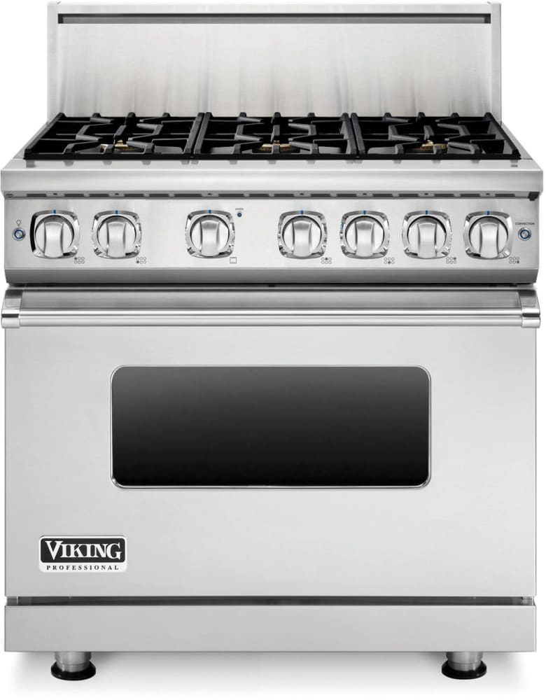 ... Viking Professional 7 Series VGR73616BSS   36 Inch Viking Professional  7 Series Gas Range Shown With ...