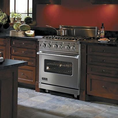 Viking Vdsc5304bar 30 Inch Pro Style Dual Fuel Range With