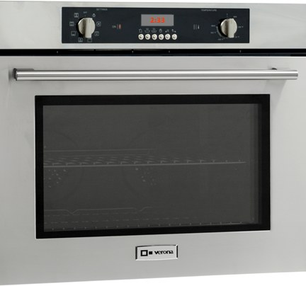 Verona Vebiem241ss 24 Inch Single Electric Wall Oven With