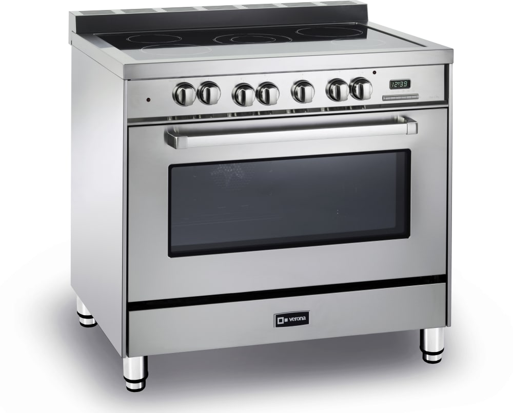 Verona Vefsee365ss 36 Inch Freestanding Electric Range With 4 0 Cu