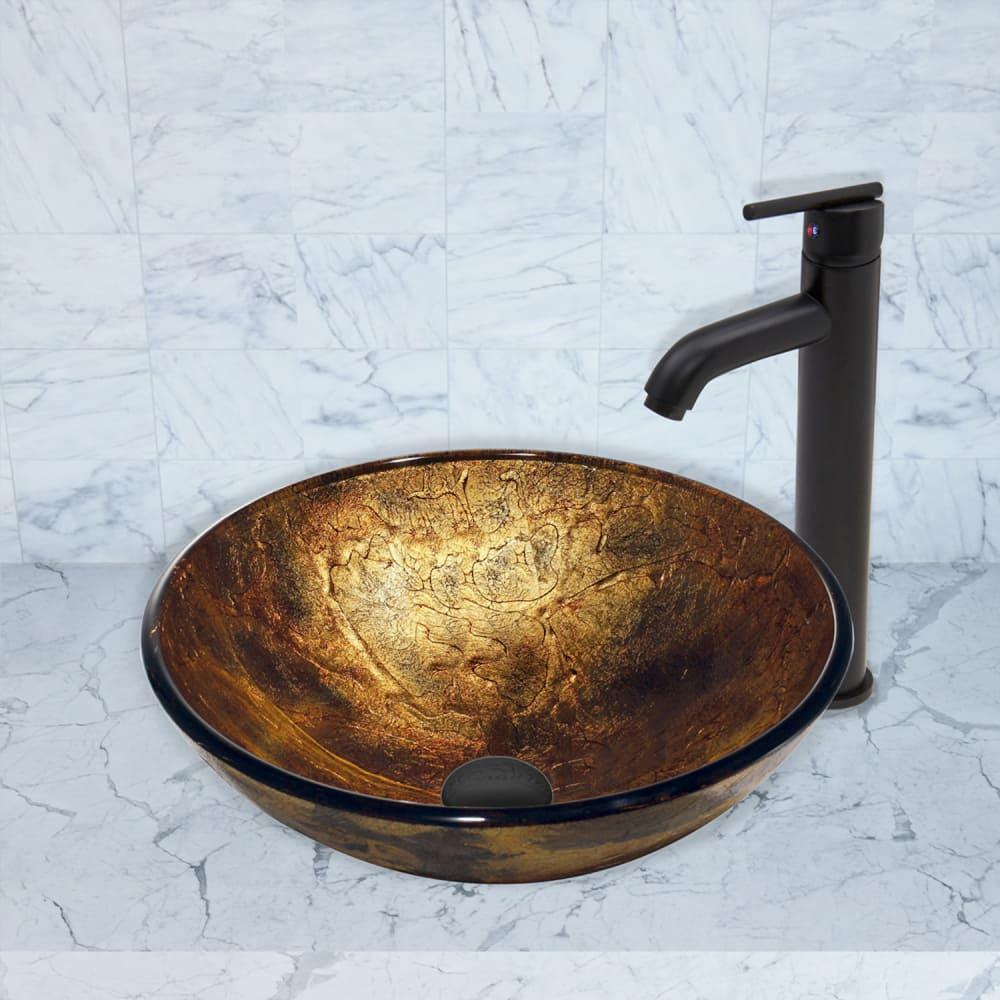 Vigo industries vg03009mb single lever cast spout faucet for Ajmadison