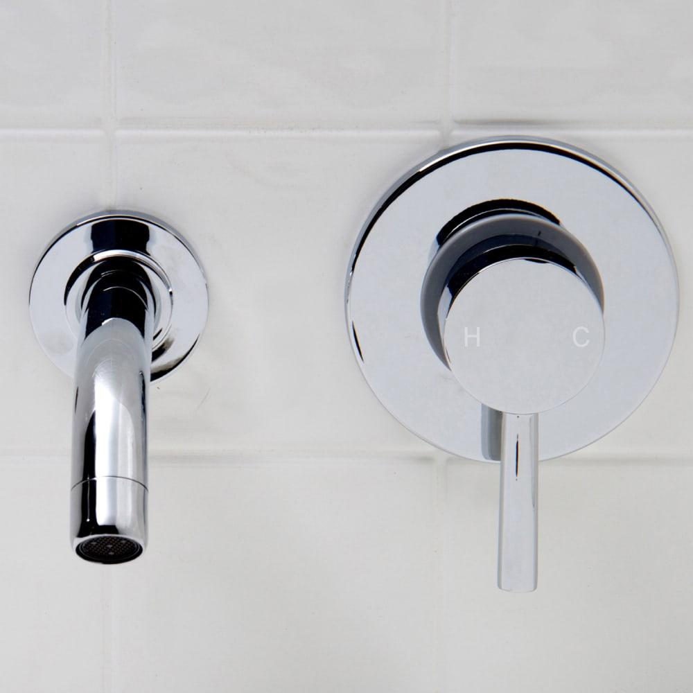 Vigo Industries VG05001CH Single Lever Wall-Mount Bathroom Faucet ...