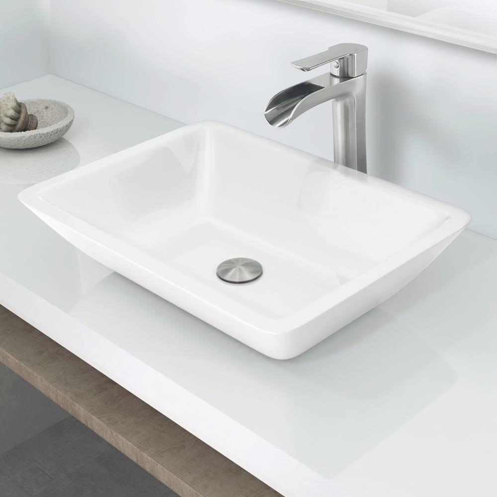 Vigo Industries Vg07106 18 Inch Vessel Bathroom Sink With