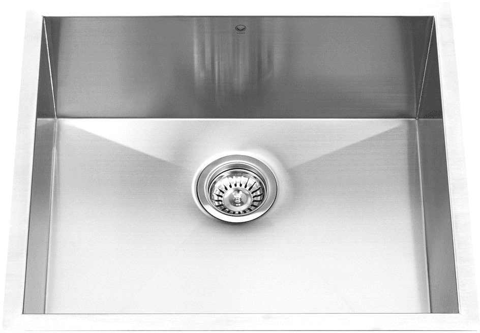 Vigo Industries VG2318C 23 Inch Undermount Stainless Steel Single ...