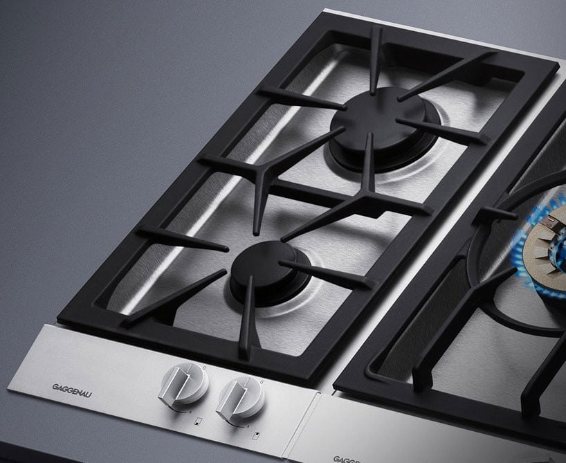 gaggenau vg232214ca 12 inch gas modular cooktop with 2 sealed burners 9 500 btu high output. Black Bedroom Furniture Sets. Home Design Ideas