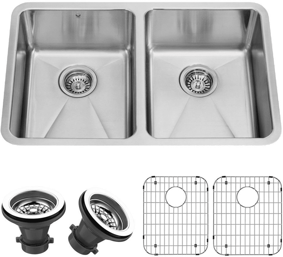 Kitchen sink top view png - Vigo Industries Vg2918k1 Feature View Vigo Industries Vg2918k1 Front View