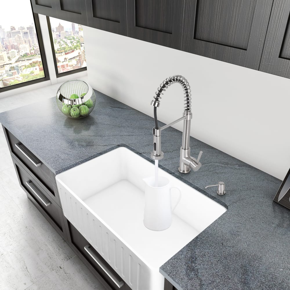 ... Vigo Industries Kitchen Sink Collection VGRA3018CS   Lifestyle View ...