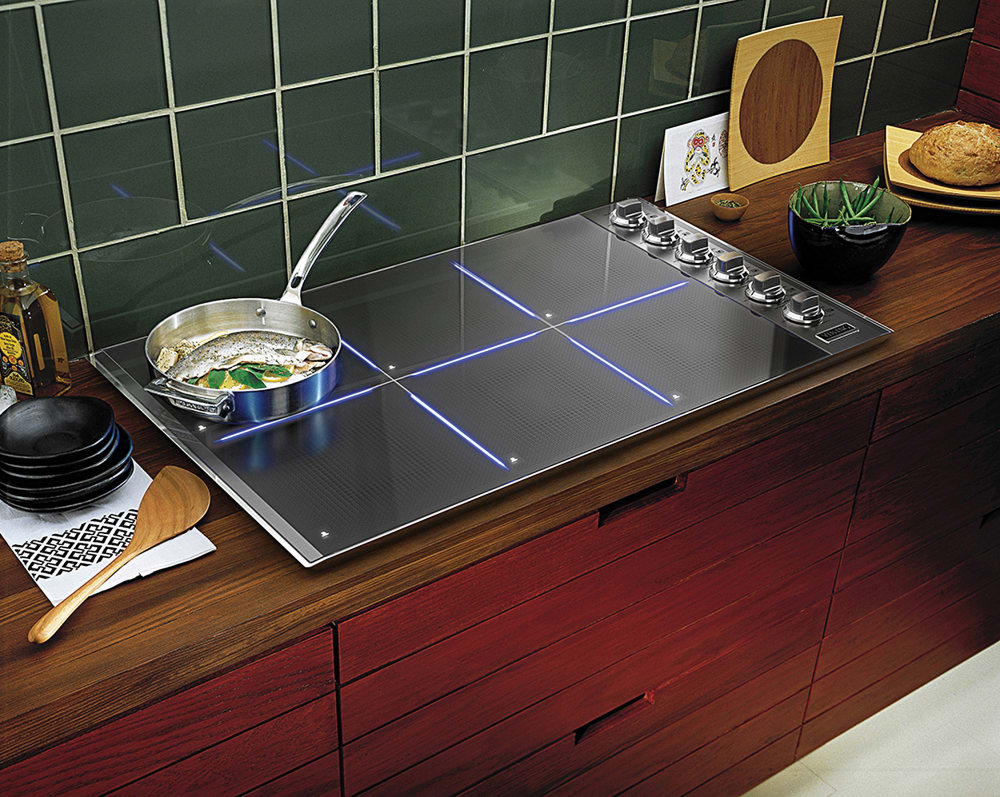 Viking Vic5366bst 36 Inch Induction Cooktop With 6 Cooking