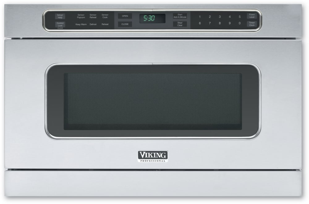 Viking Vmod241ss Undercounter Drawermicro Microwave Oven