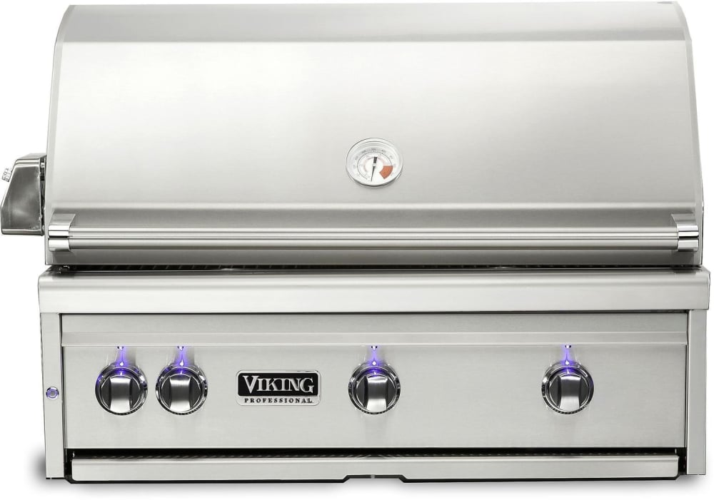 Viking vqgi5360nss 36 inch built in grill with prosear for Viking built in grill