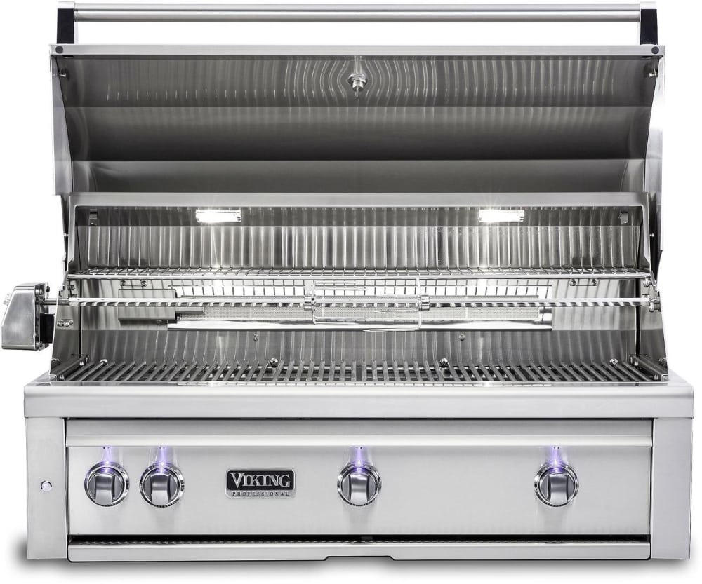 Viking vqgi5420nss 42 inch built in grill with prosear for Viking professional outdoor grill