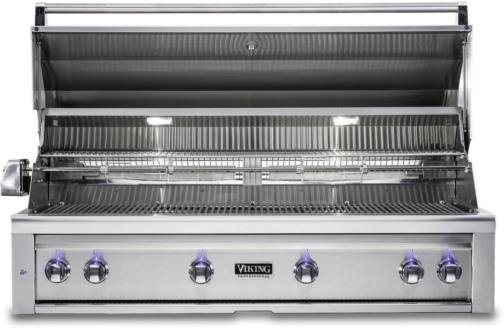 Viking vqgi5540nss 54 inch built in grill with prosear for Viking professional outdoor grill