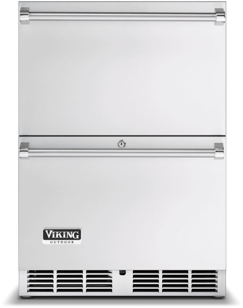 Viking Vrdo5240dss 24 Inch Undercounter Outdoor Double