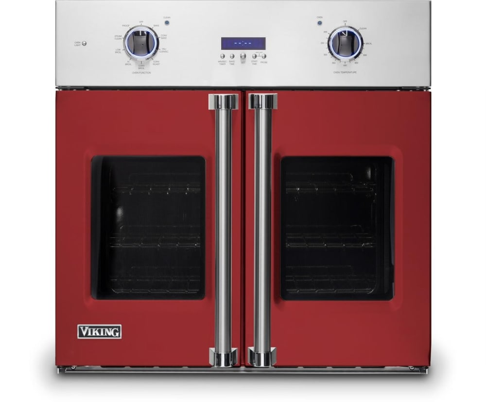 Viking Vsof7301ar 30 Inch French Door Thermal Convection