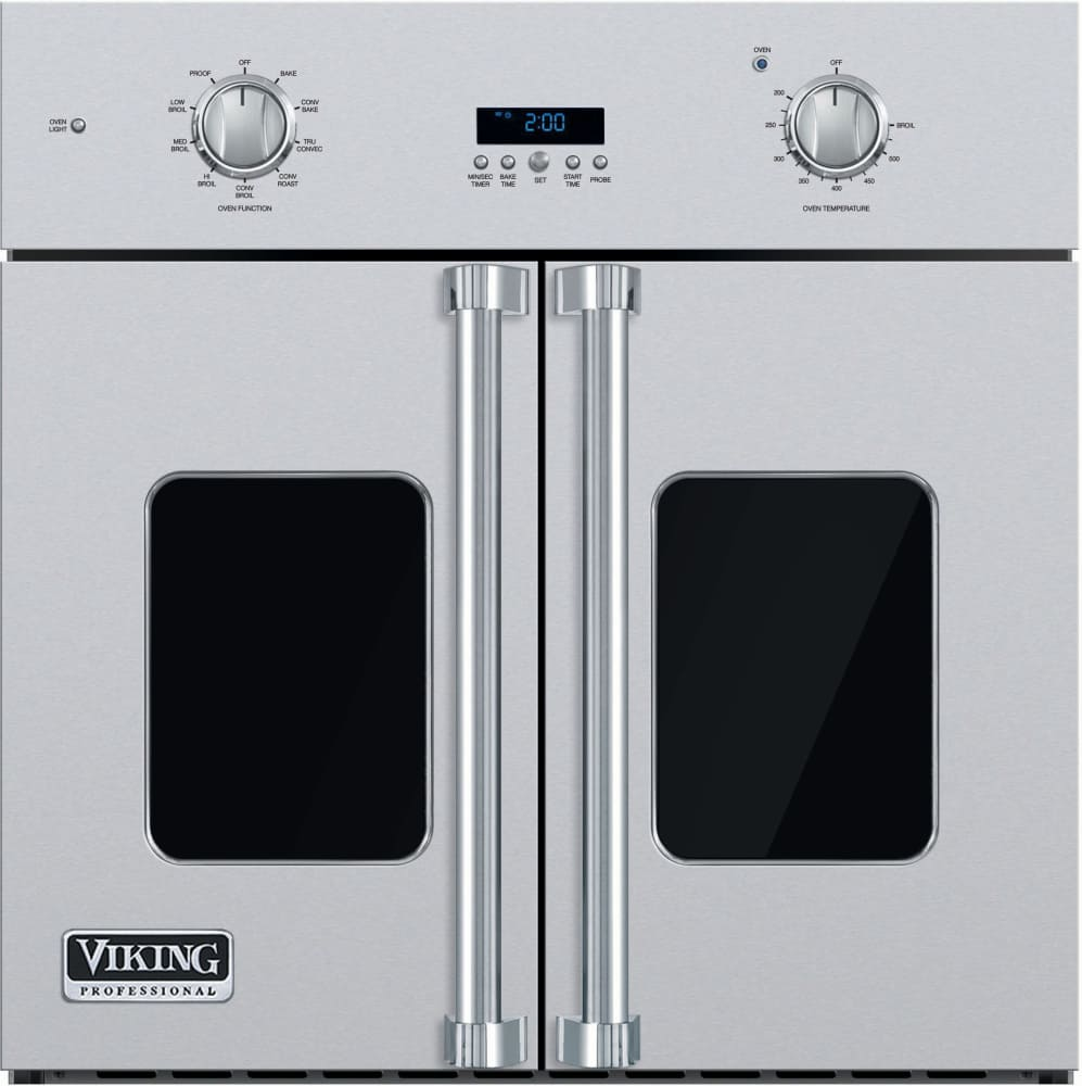 Viking Vsof730ss 30 Inch Single French Door Wall Oven With