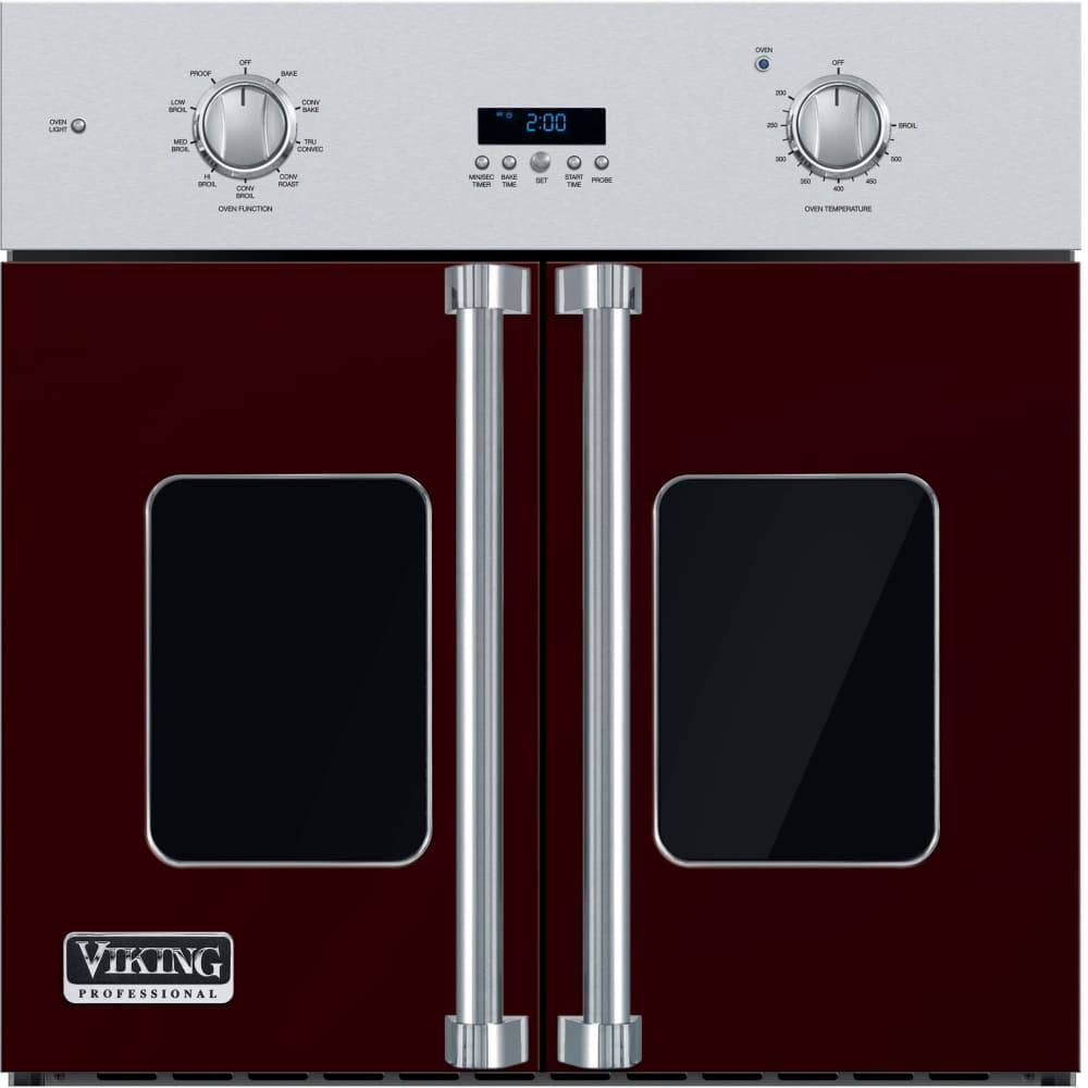 Viking Vsof730 30 Inch Single French Door Wall Oven With 4