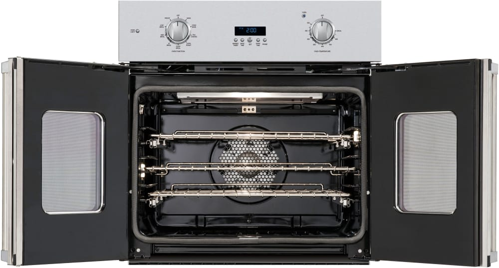 french door oven ge single wall open blue star gas