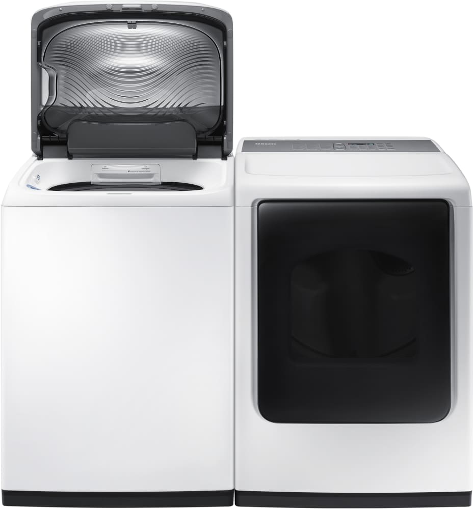 Samsung Dv45k7600ew 27 Inch 7 4 Cu Ft Electric Dryer