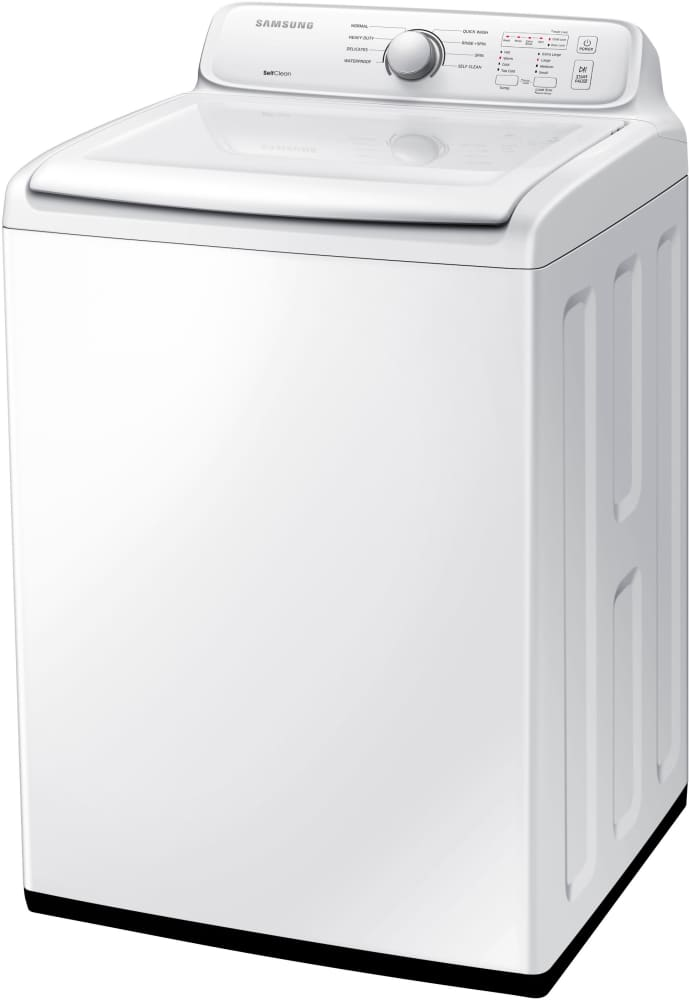 Samsung Wa40j3000aw 27 Inch 40 Cu Ft Top Load Washer With 8 Wash