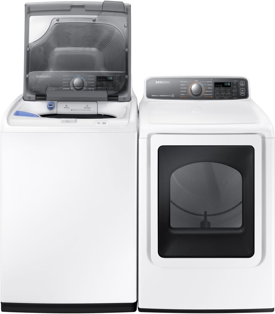 Samsung Dv48j7700ew 27 Inch 7 4 Cu Ft Electric Dryer