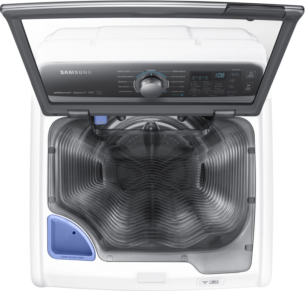 Ft. Capacity Samsung WA48J7700AW - ActiveWash Pre-Treat Built-in Sink with  Jet Stream ...