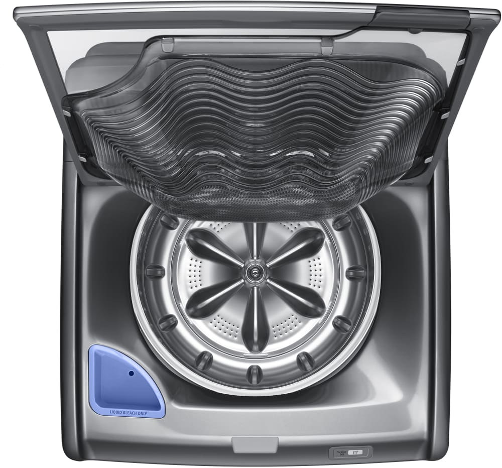 Samsung Wa52j8700ap 27 Inch 5 2 Cu Ft Top Load Washer