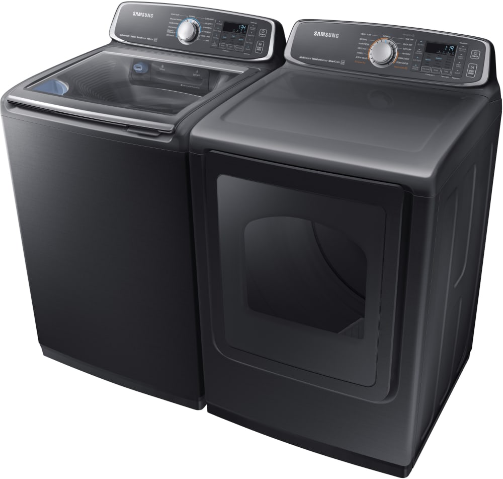 Samsung Wa52m7750av 27 Inch Top Load Washer With