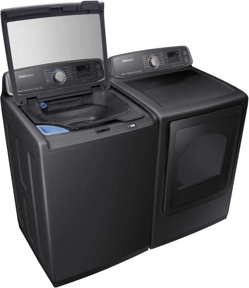 Samsung Wa52m7750av 27 Inch Top Load Washer With