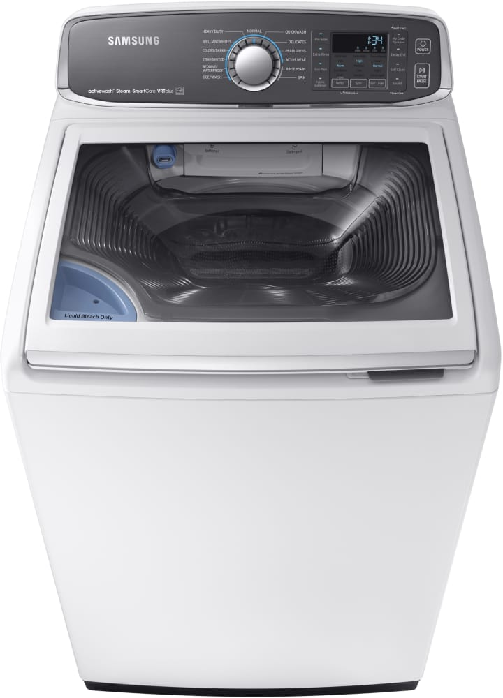 Samsung Wa52m7750aw 27 Inch Top Load Washer With