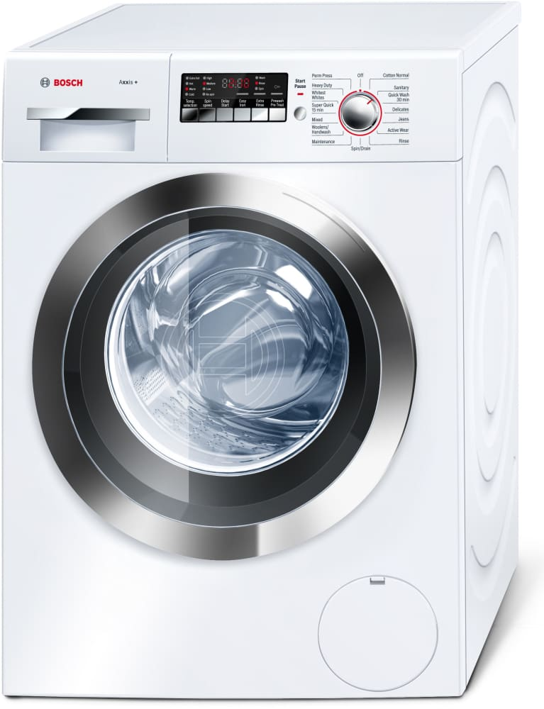 Bosch Wap24202uc 24 Inch Front Load Washer With 2 2 Cu Ft