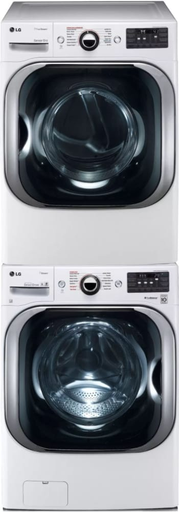 Lg Lgwadrew8108 Stacked Washer Amp Dryer Set With Front Load