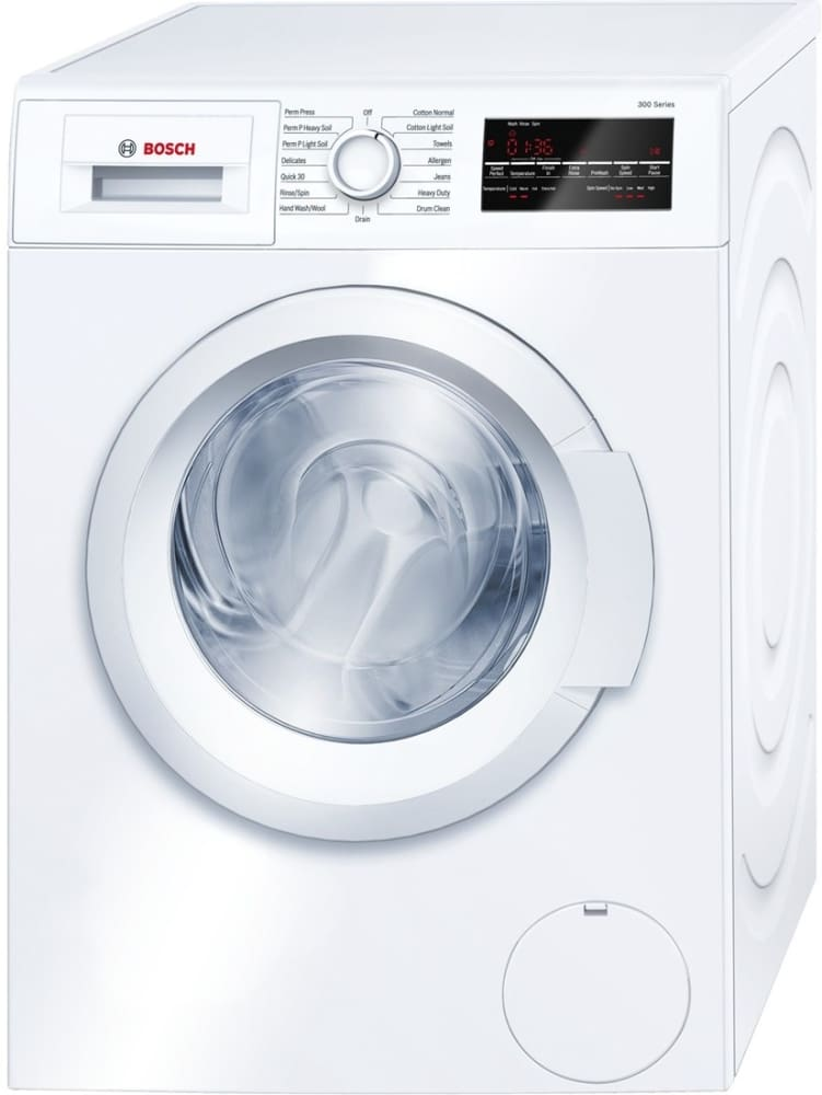 Bosch Wat28400uc 24 Inch Front Load Washer With Quick Wash