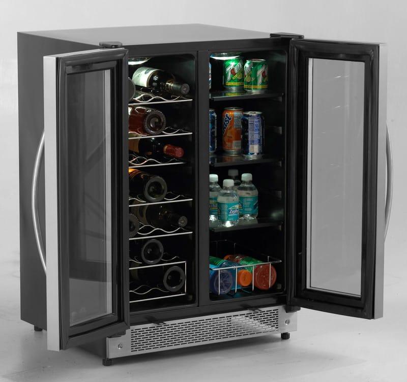 Avanti Wbv21dz 24 Inch Built In Side By Side Beverage