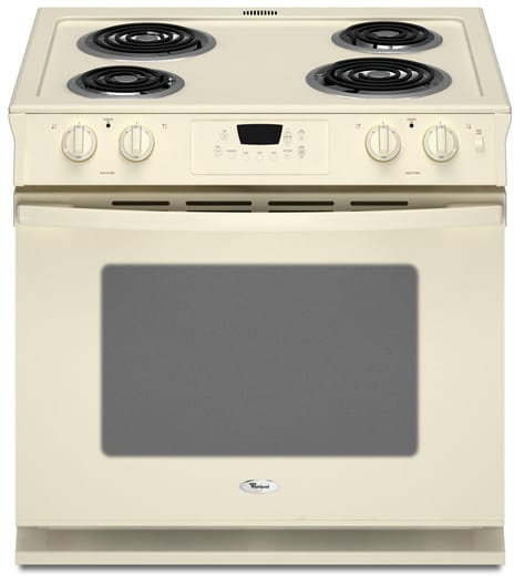 Whirlpool Wde150lvt 30 Inch Drop In Electric Range With 4