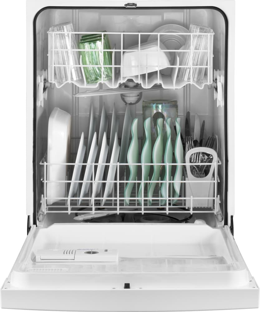 Whirlpool Wdf310paaw Full Console Dishwasher With 12 Place